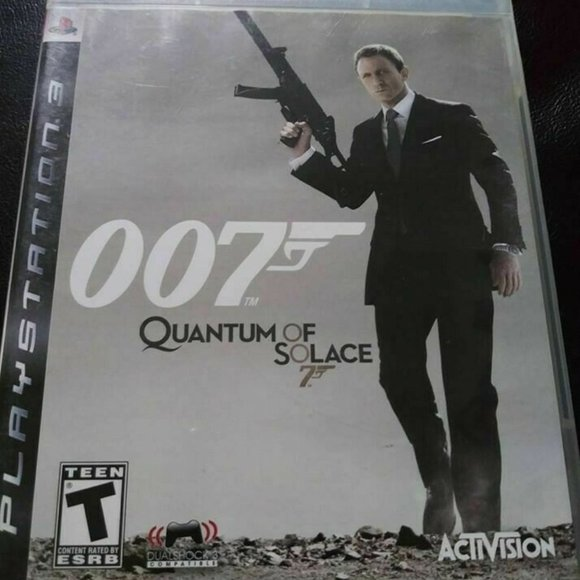 BOND OO7 QUANTUM SOLACE First Person SHOOTER